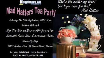 Mad Hatter Tea Invite Photo